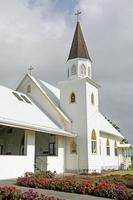 heligt hjärta kyrka hawaii foto