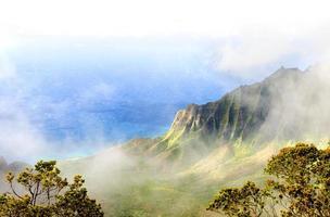 kalalau dal, kauai, hawaii. foto