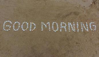god morgon foto