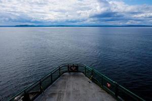 färja till ön Bainbridge foto
