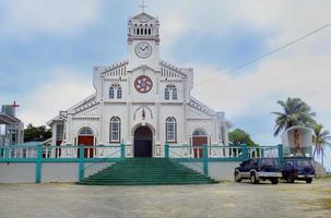 St Joseph katedralen i Neiafu, Vavau, Tonga foto