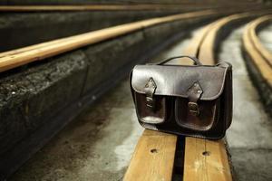 handgjord läderväska