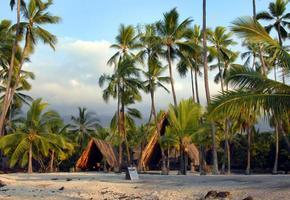hawaiianska heliga plats foto