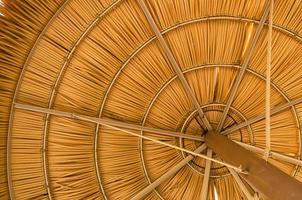 Strand parasoll foto