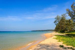 vacker på baidai stranden foto