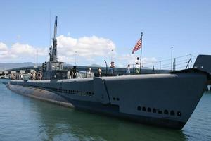 ubåt uss bowfin foto