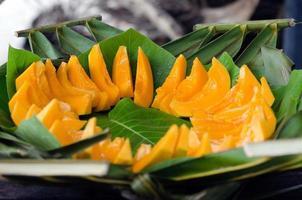 papaya tropisk frukt foto