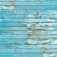 gammal blå träplankabakgrund. foto