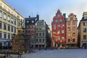 stortorget, stockholm foto