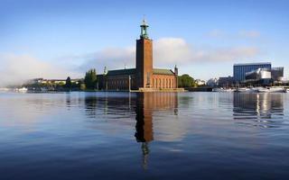 stadshuset, stockholm foto