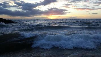 solnedgång i wailea 3 foto