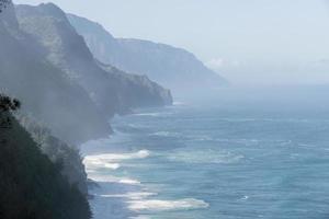 kauai na pali kustens vildmark foto