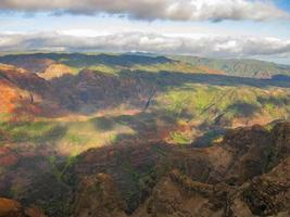 waimea canyon state park foto