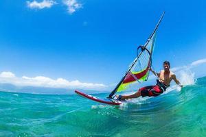 vindsurfing foto