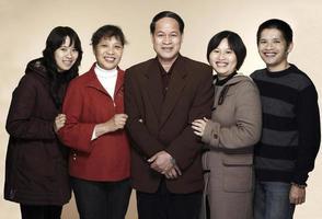 kinesisk familj foto