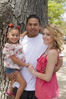blandad familj foto