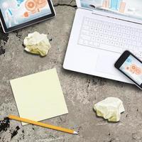 bärbar dator, surfplatta och smart telefon