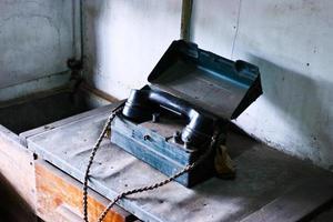 gammal telefon foto