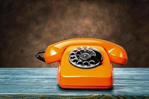 vintage telefon foto