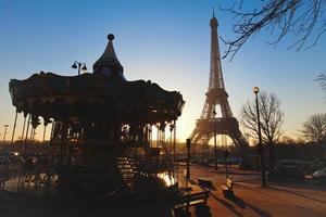 morgon i Paris foto