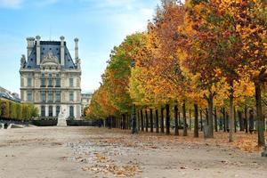 hösten i Paris