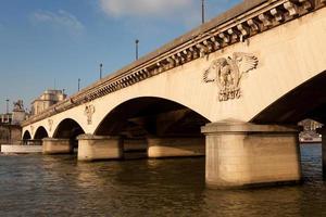 pont d'iena, paris foto