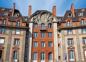 paris - arkitektur av staden foto