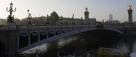 pont alexandre iii foto
