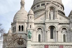 paris montmartre street 17 foto