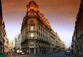 parisisk byggnad foto