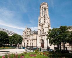 kyrka i Paris foto