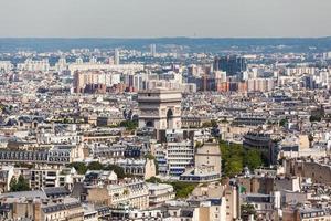 stadsbild av Paris foto