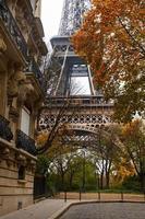 hösten i Paris foto
