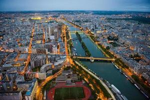 utsikt över Paris foto