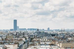 paris från galerier lafayette foto