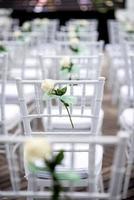 bröllop stol foto
