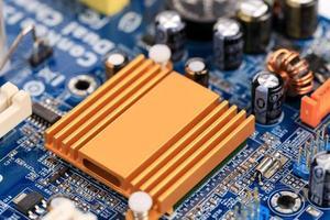 elektronisk styrelse på nära håll. foto