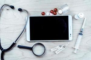 medicinsk bakgrund foto