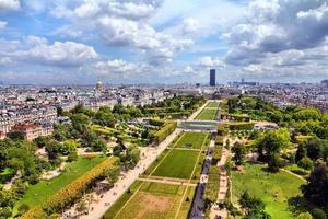 paris - fält av mars foto