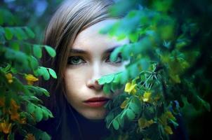 porträtt foto
