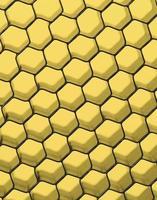 närbild av svart nät. gult ljus.