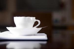 möte kaffepaus foto