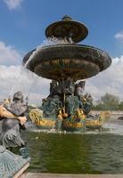 fontän av floden handel och navigering foto