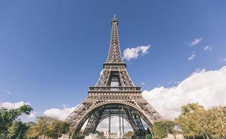 turné eiffel i paris foto