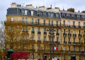 parisisk arkitektur foto