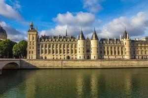 seine river i Paris foto