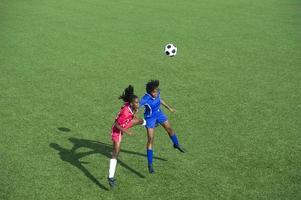 kvinnors fotboll foto