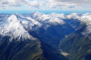 södra alper, Nya Zeeland foto