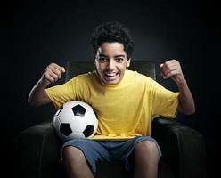 fotbolls-världscup på tv foto