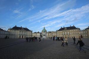 amalienborg, köpenhamn foto
